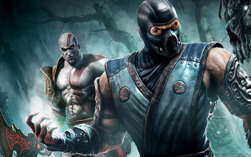 Video games mortal kombat games wallpaper