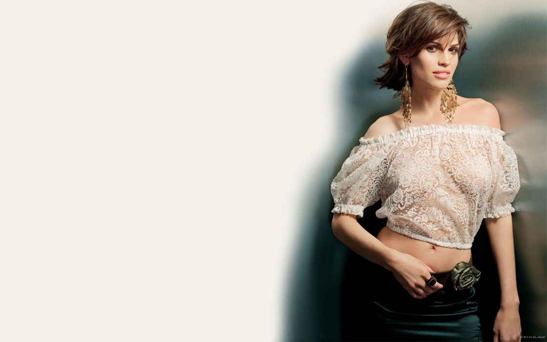 Women celebrity hilary swank wallpaper