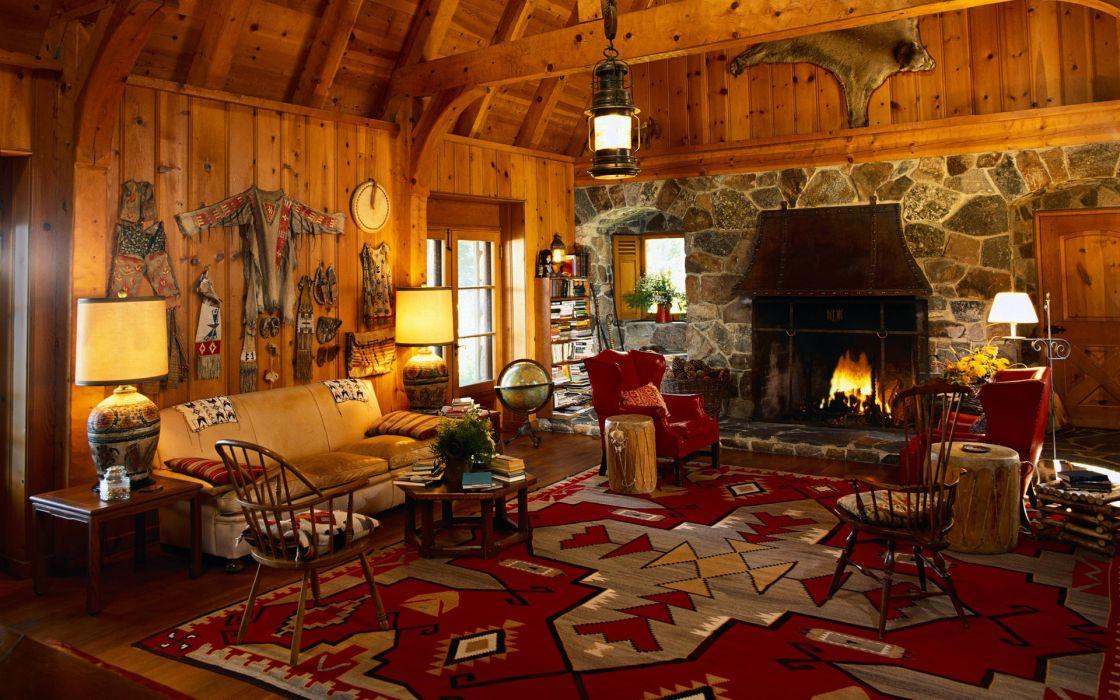 Room carpet fireplace wallpaper
