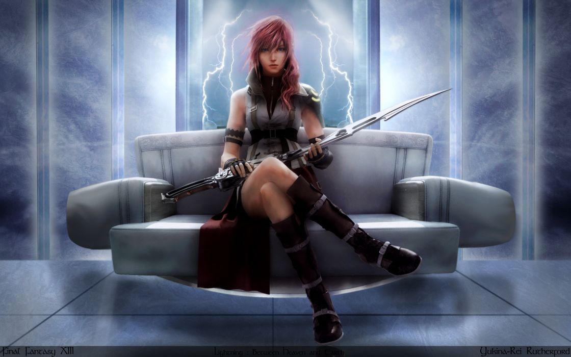 Video games final fantasy xiii claire farron wallpaper