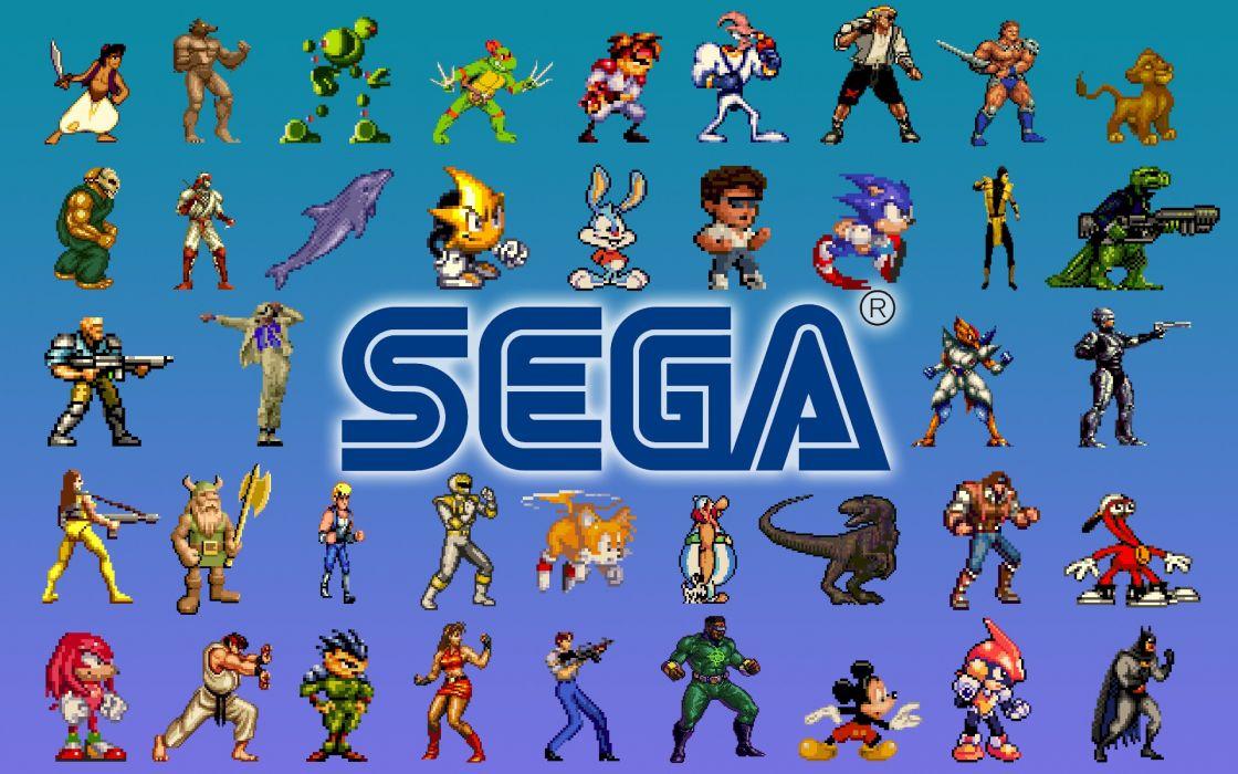 Sega entertainment wallpaper