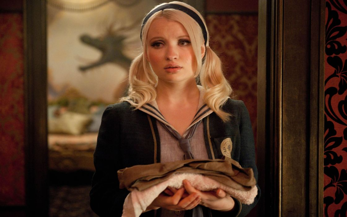 Women emily browning sucker punch baby doll wallpaper