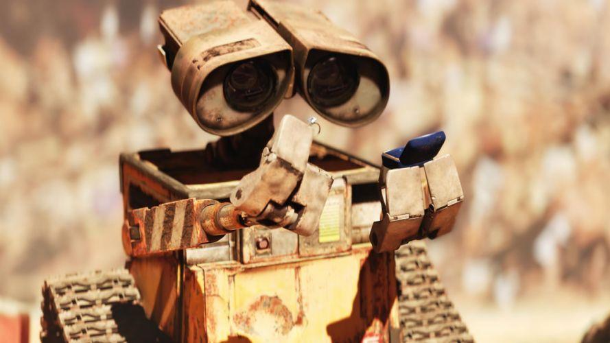 Wall-E animation Pixar movie wallpaper