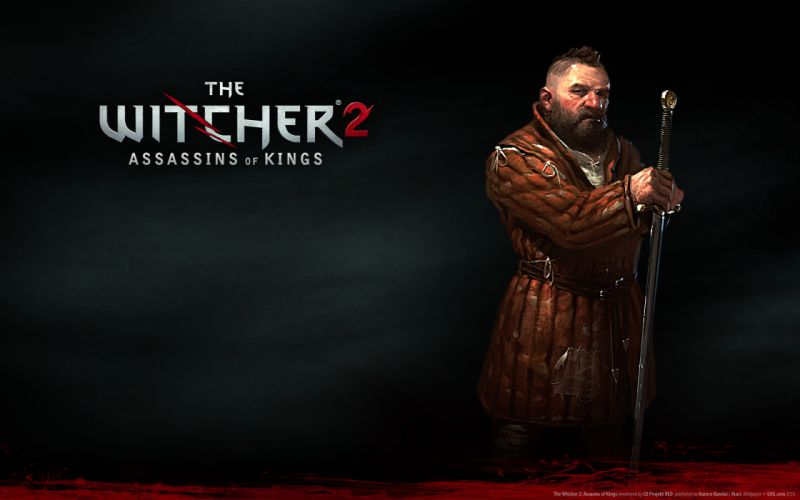 The witcher background wallpaper