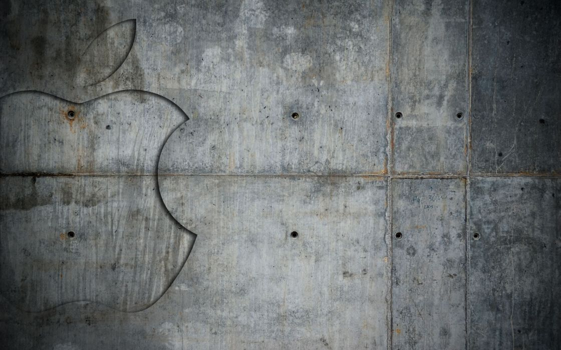 Abstract wall apples wallpaper