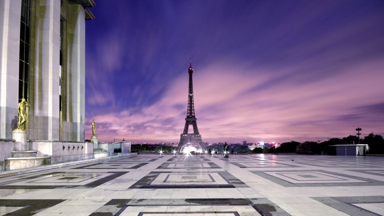 Eiffel tower paris cityscapes wallpaper