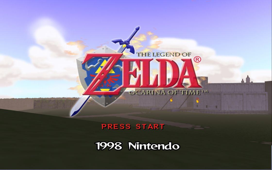 Nintendo video games the legend of zelda wallpaper