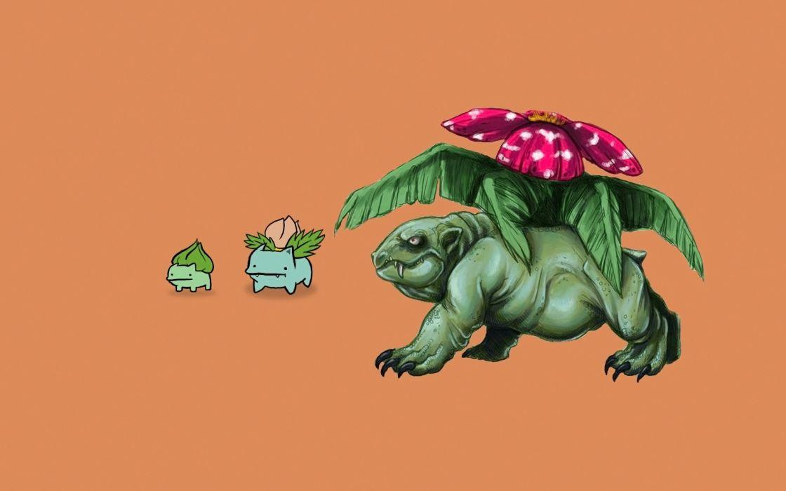 Pokemon bulbasaur realistic wallpaper