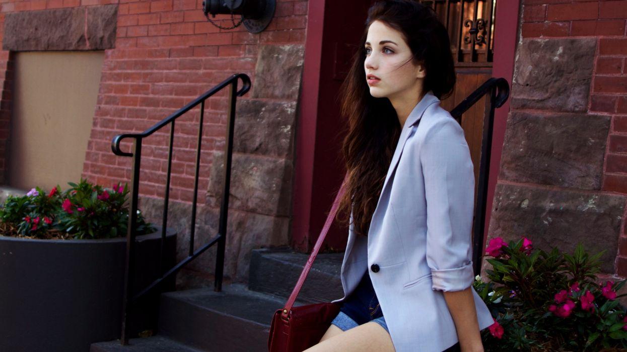 Brunettes women models people emily rudd wallpaper