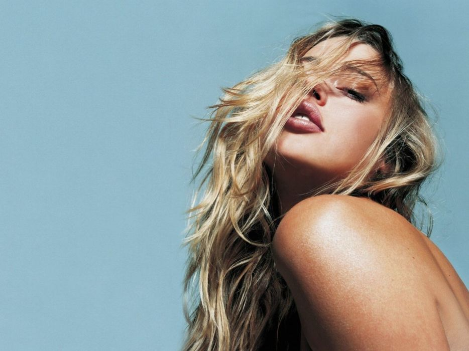 Blondes women estella warren faces wallpaper