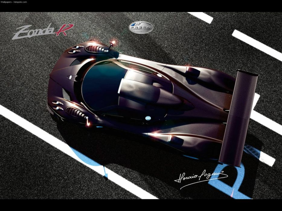 Cars pagani zonda vehicles wallpaper