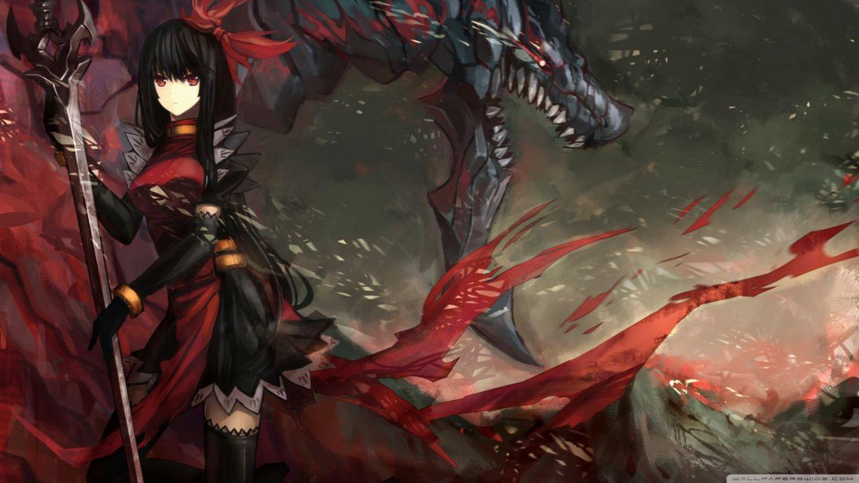 Fighting anime wallpaper
