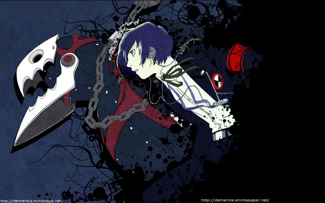 Persona Series Persona 3 Thanatos Arisato Minato Wallpaper