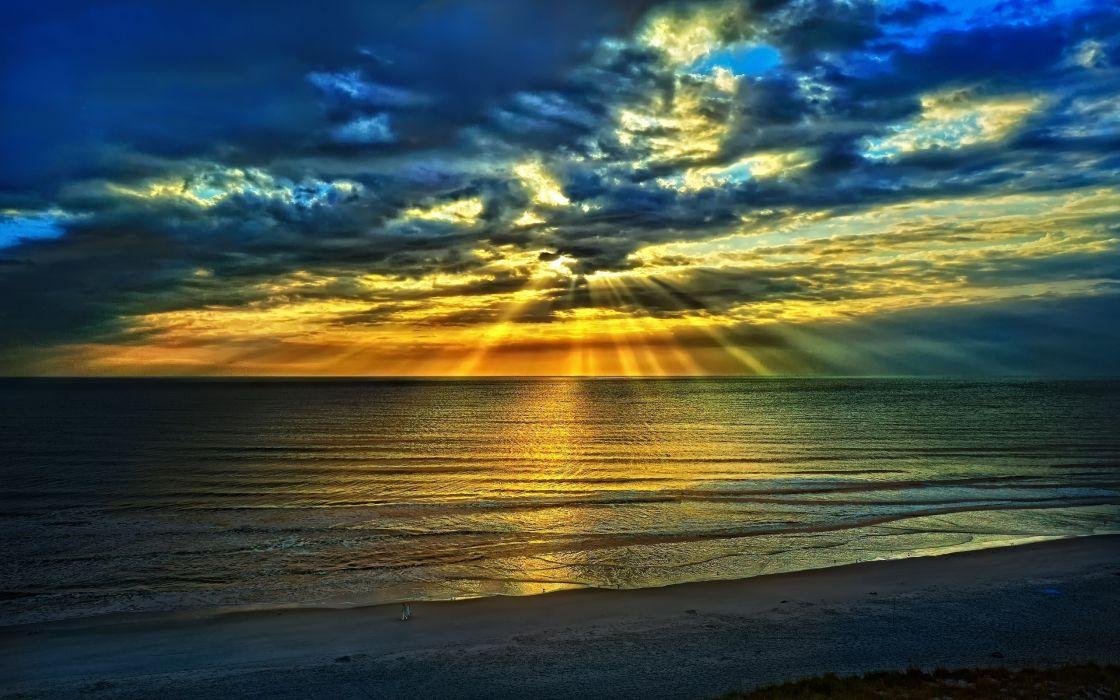 Sunset seas wallpaper