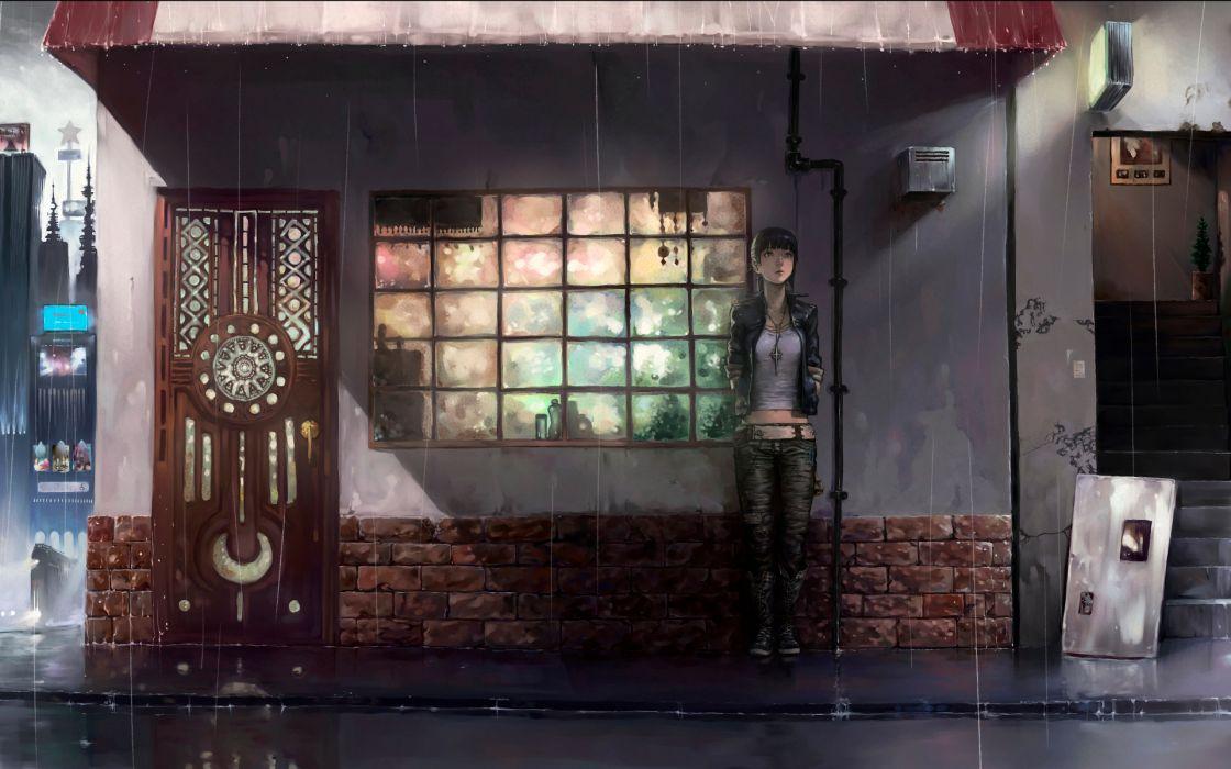 Rain yuzu nooto wallpaper