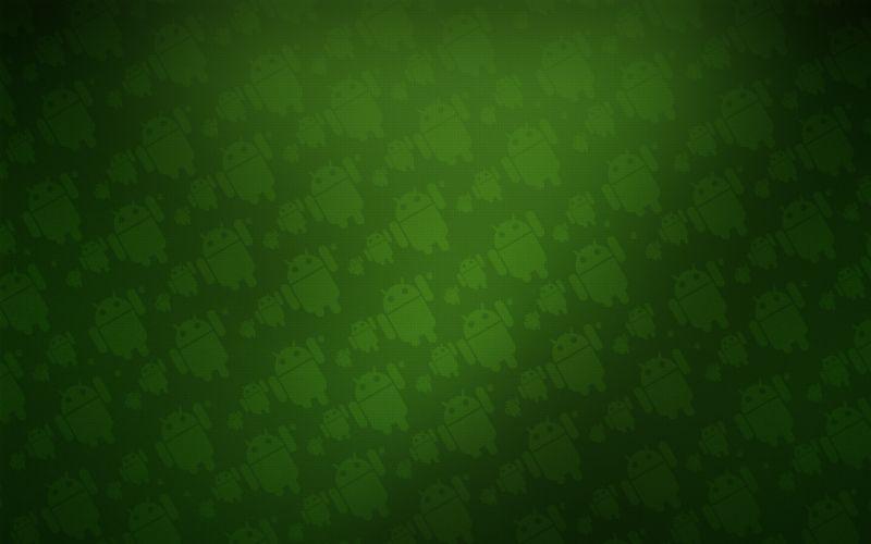 Green patterns wallpaper