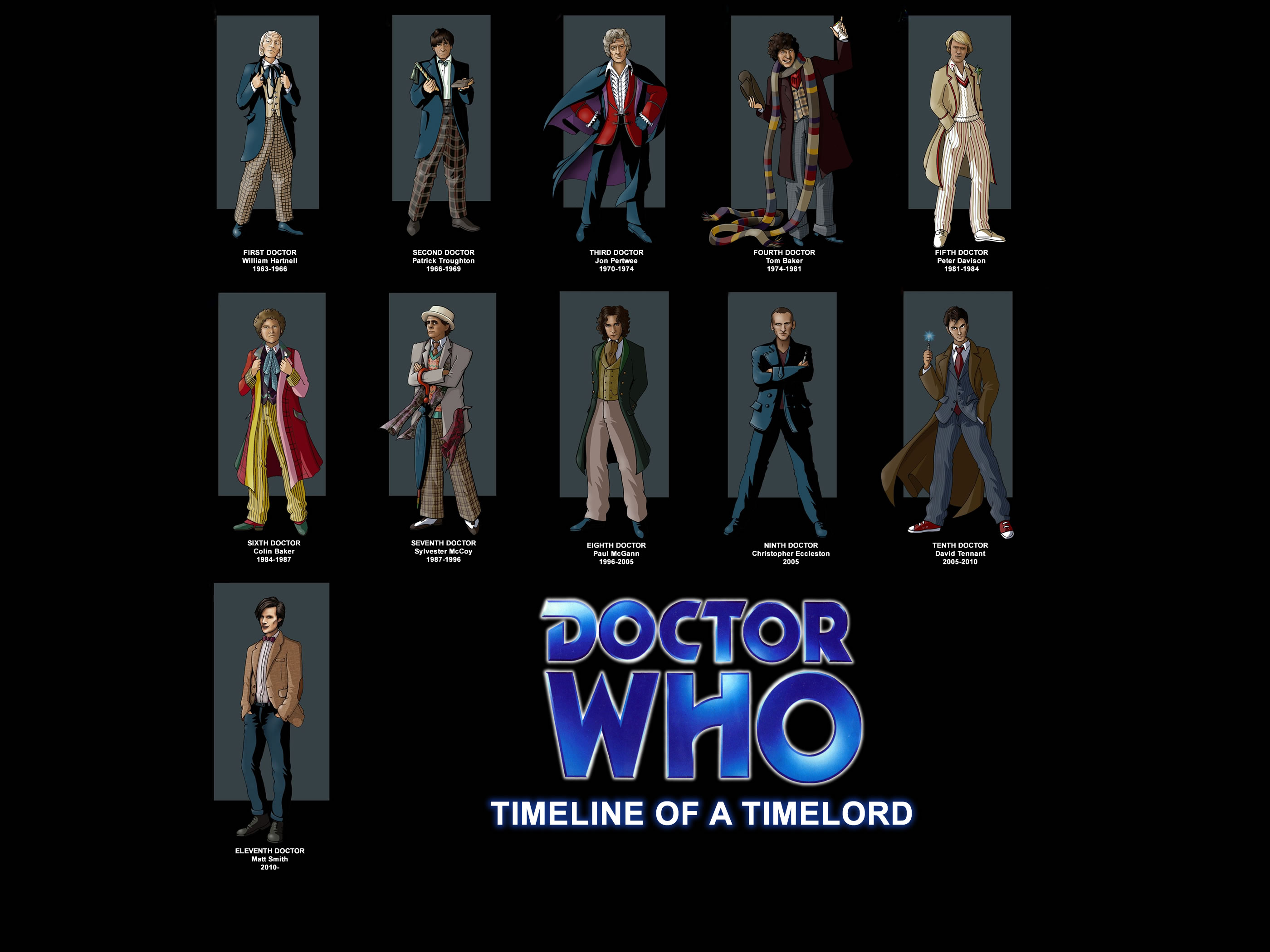 Fourth Doctor Doctors Eleventh Doctor Doctor Who Tenth Doctor