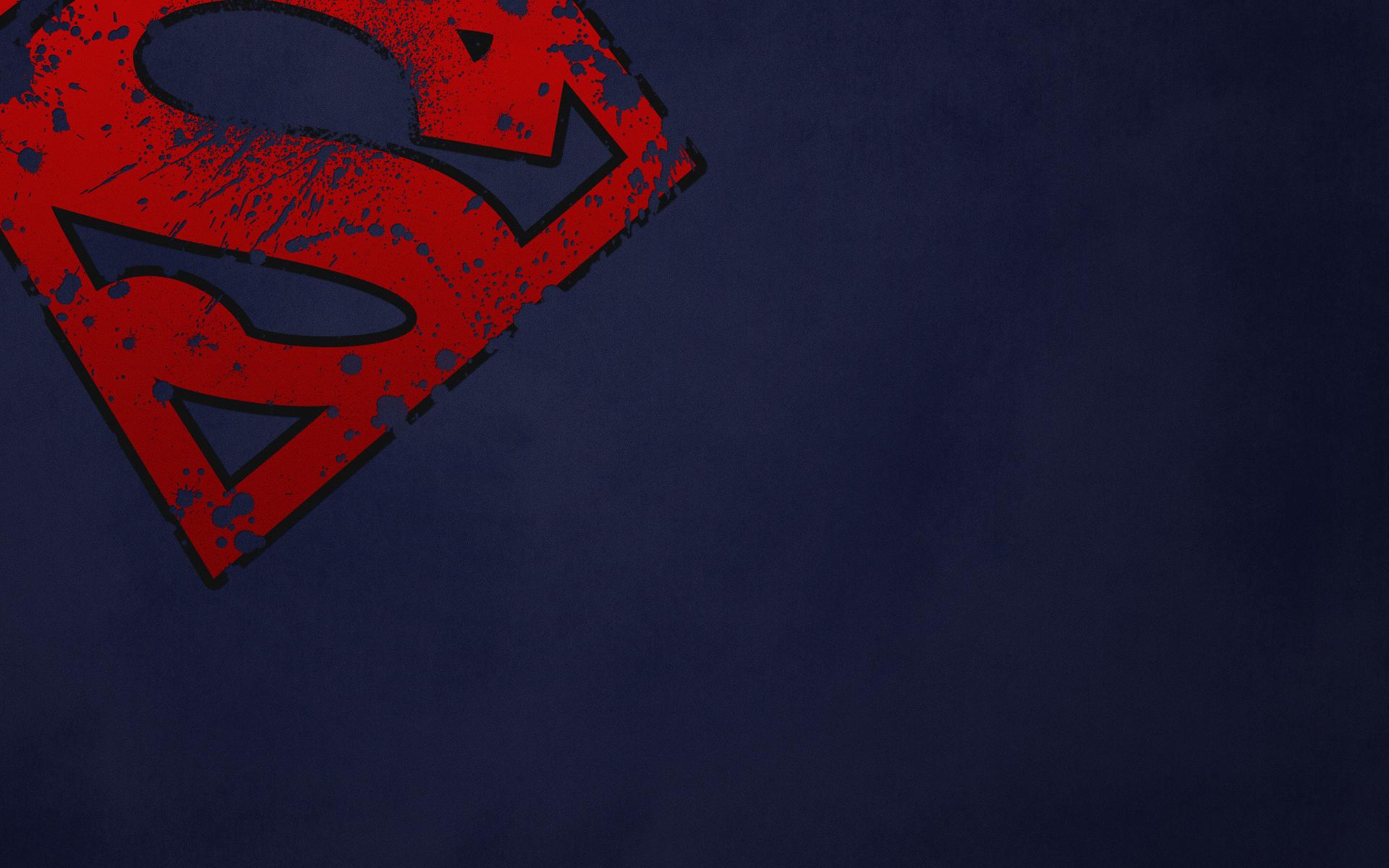 dc  ics superman superman logo wallpaper 1920x1200