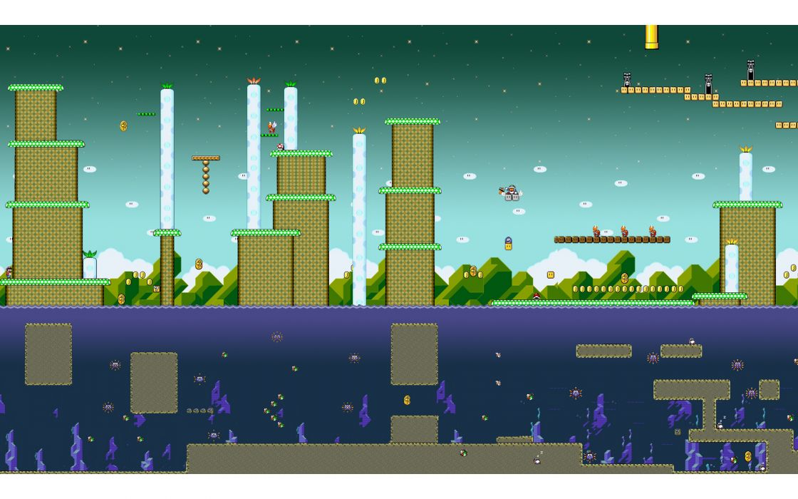 Mario super mario super mario world bullet bill super nintendo level design amazing flyin' hammer bro wallpaper
