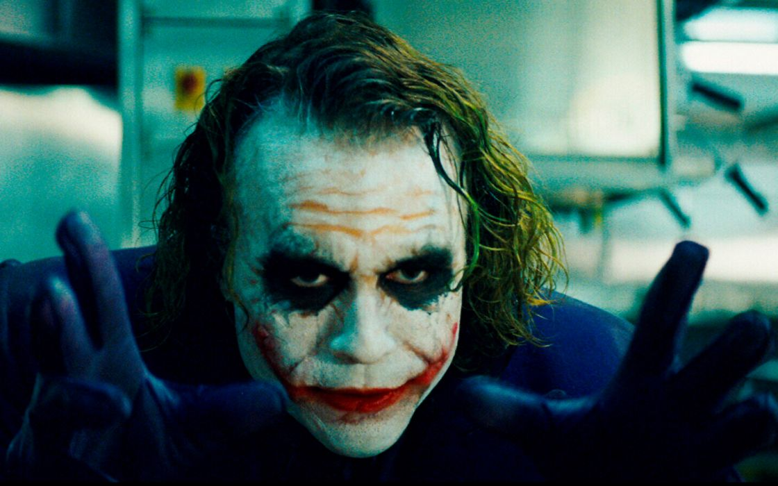 The joker batman the dark knight wallpaper