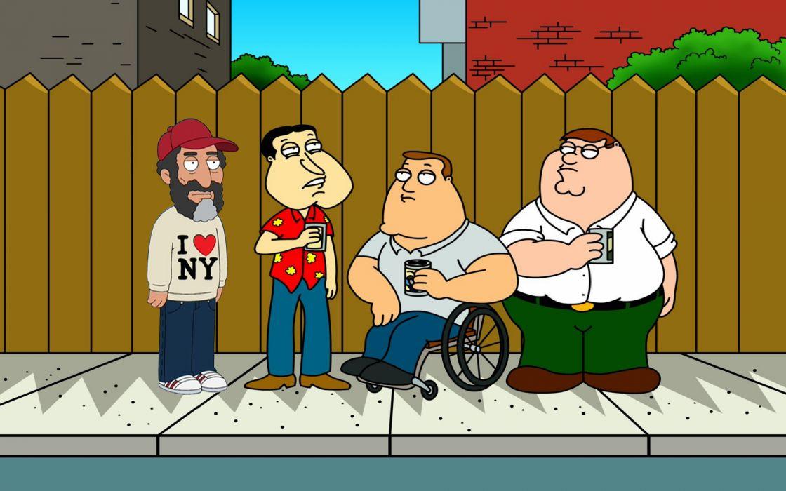 Family guy new york city tv series wallpaper