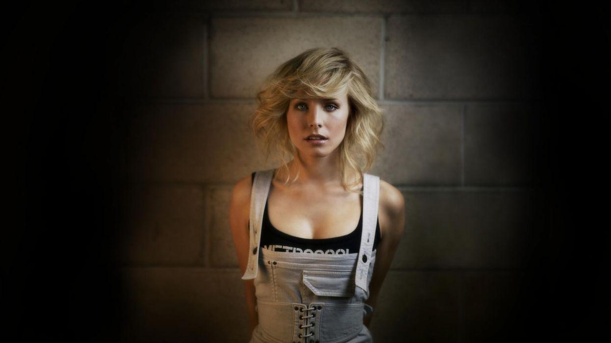 Blondes women kristen bell actress wallpaper