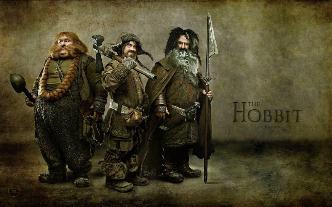 Movies dwarfs journey the hobbit bifur bombur bofur wallpaper