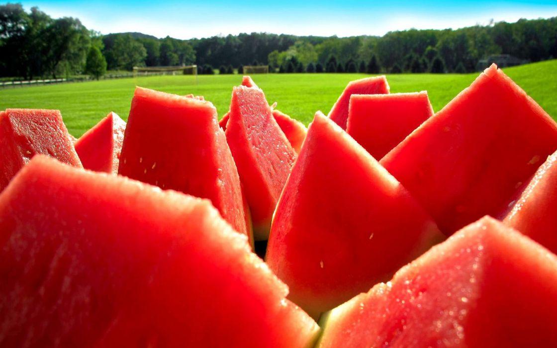 Food watermelons wallpaper