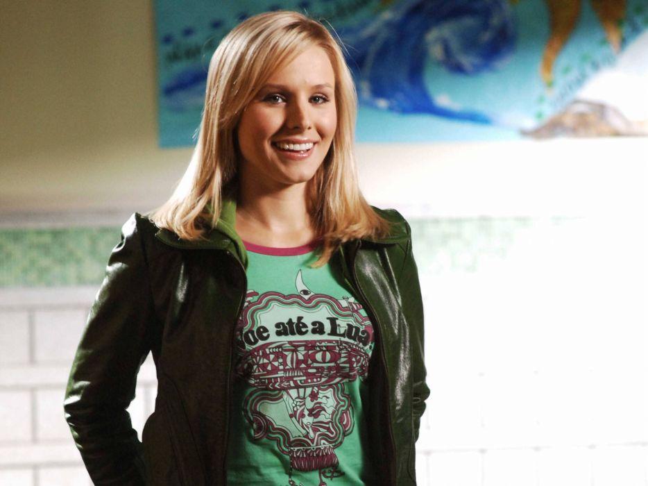 Blondes women kristen bell actress celebrity wallpaper