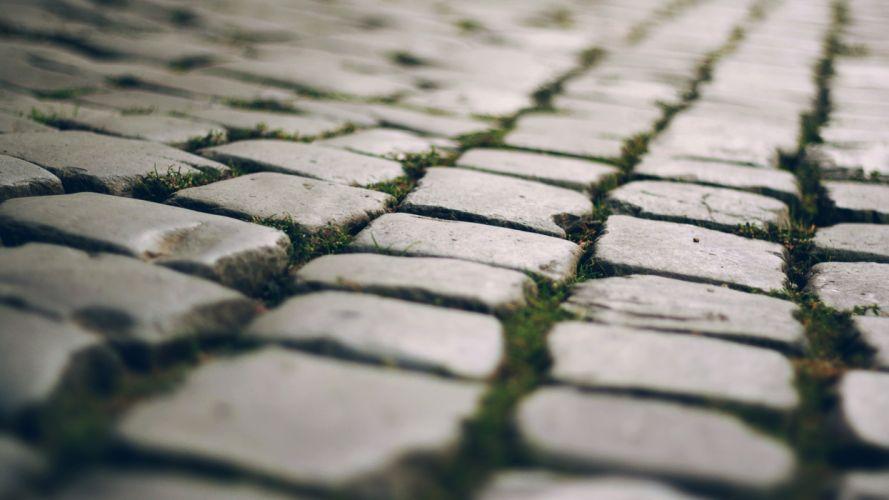 Stones depth of field wallpaper
