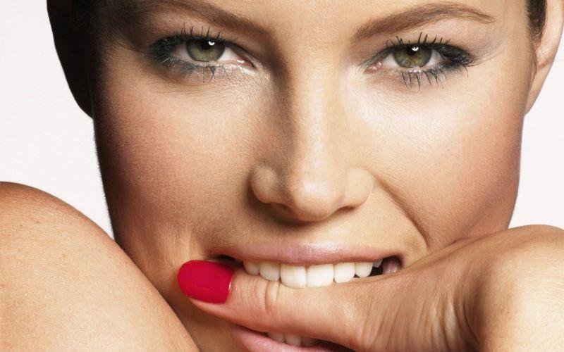 Up models jessica biel finger in mouth wallpaper