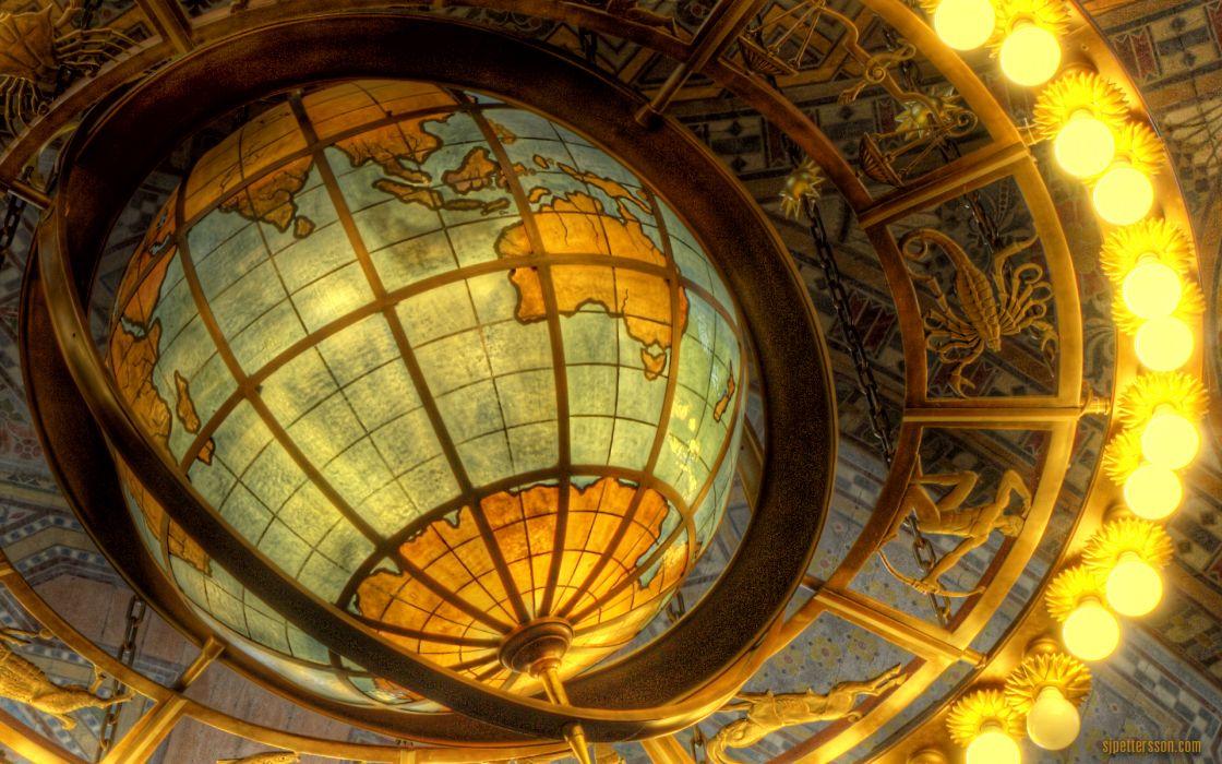 Lights globes wallpaper