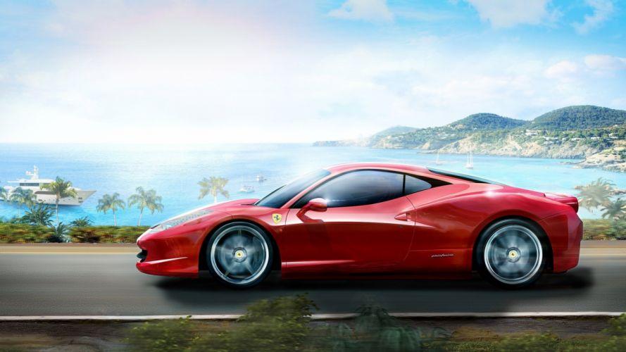 Cars ferrari vehicles supercars ferrari 458 italia wallpaper