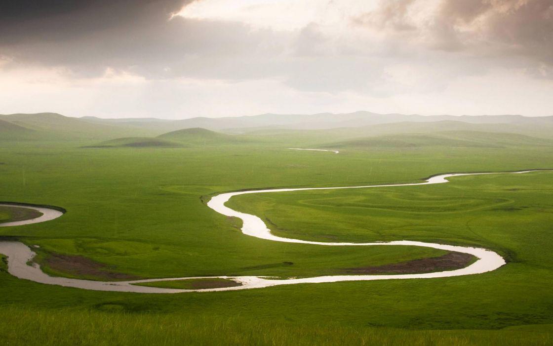 Landscapes river wallpaper