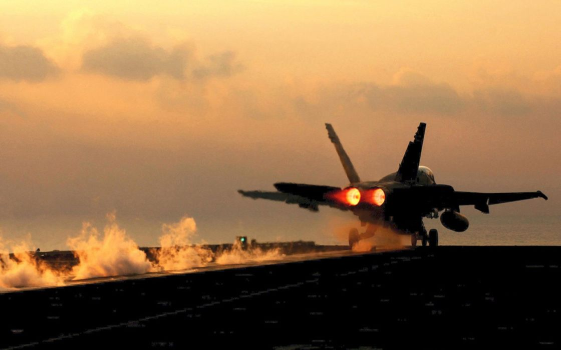 Aircract military fighter navy vehicles F-18 Hornet wallpaper