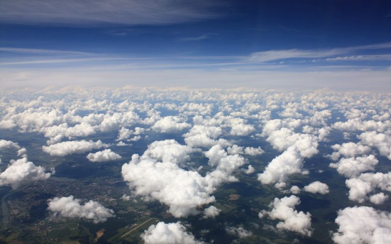 Landscapes sky clouds wallpaper