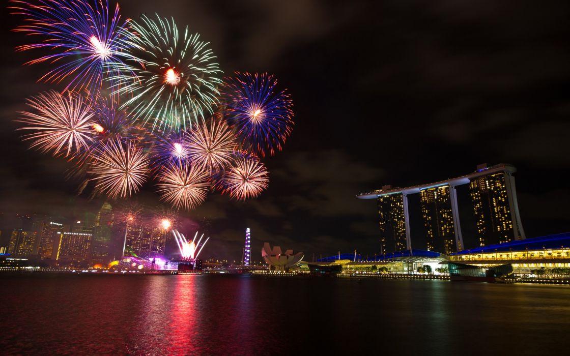 Cityscapes singapore wallpaper