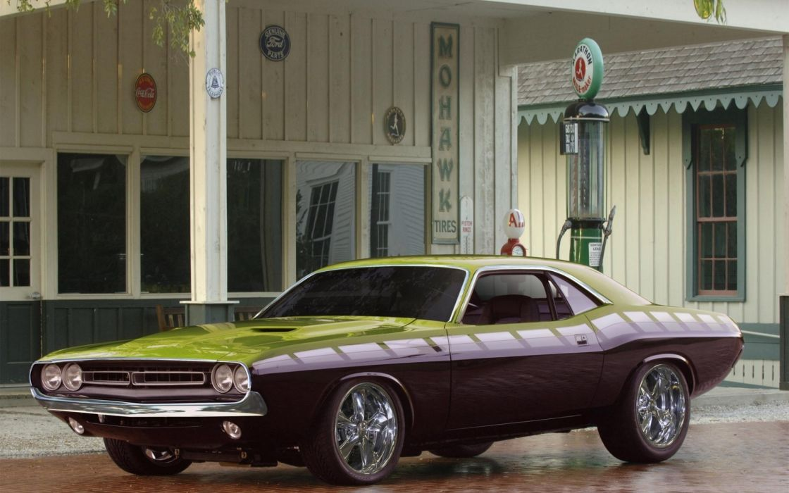Cars dodge challenger wallpaper