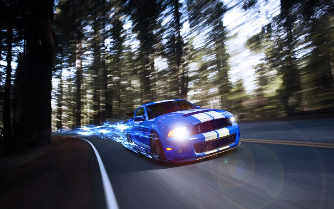 Cars ford mustang shelby gt500 wallpaper