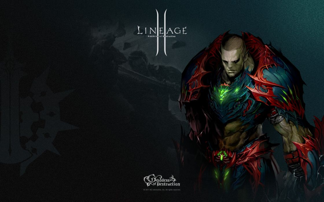 Video games artwork mmorpg lineage 2 wallpaper