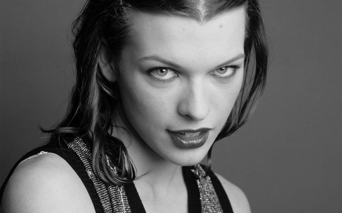 Women actress milla jovovich wallpaper