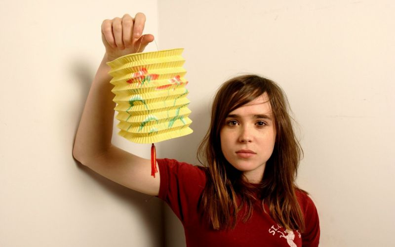 Women ellen page actress wallpaper