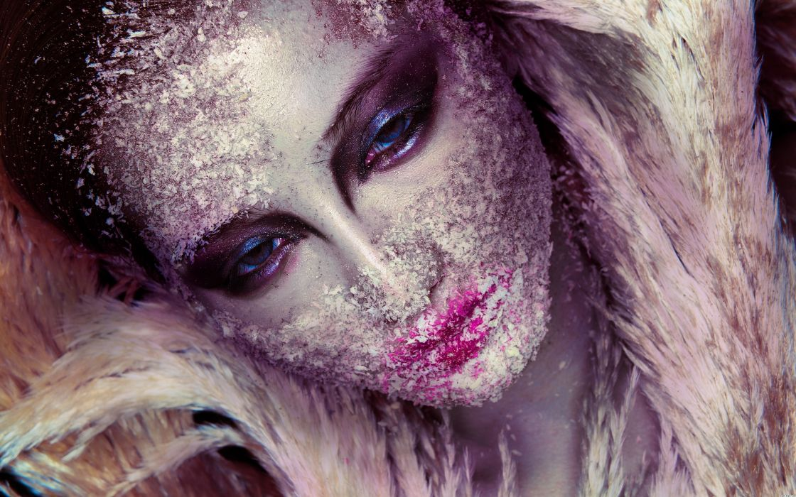 Frost Make-up wallpaper