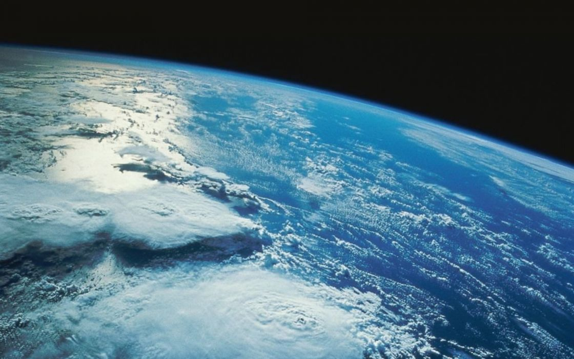 Outer space planets earth wallpaper