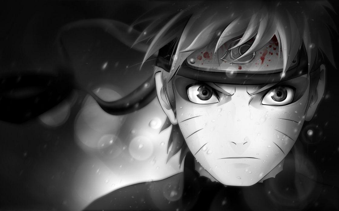 Naruto Shippuden Sage Mode Selective Coloring Naruto Uzumaki