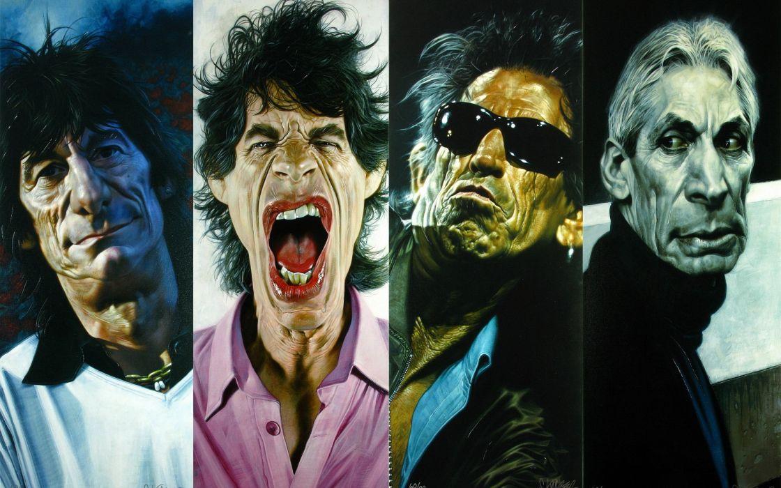 Celebrity Mick Jagger Rolling Stones Wallpaper