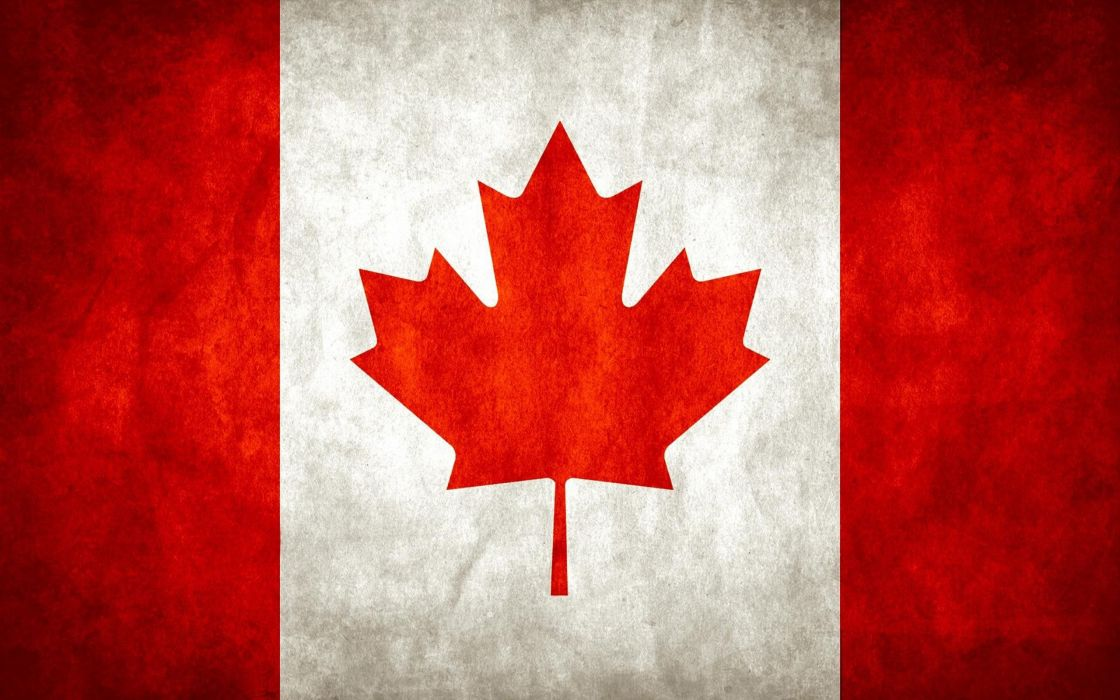 Leaves canada flags canadian flag stripes wallpaper