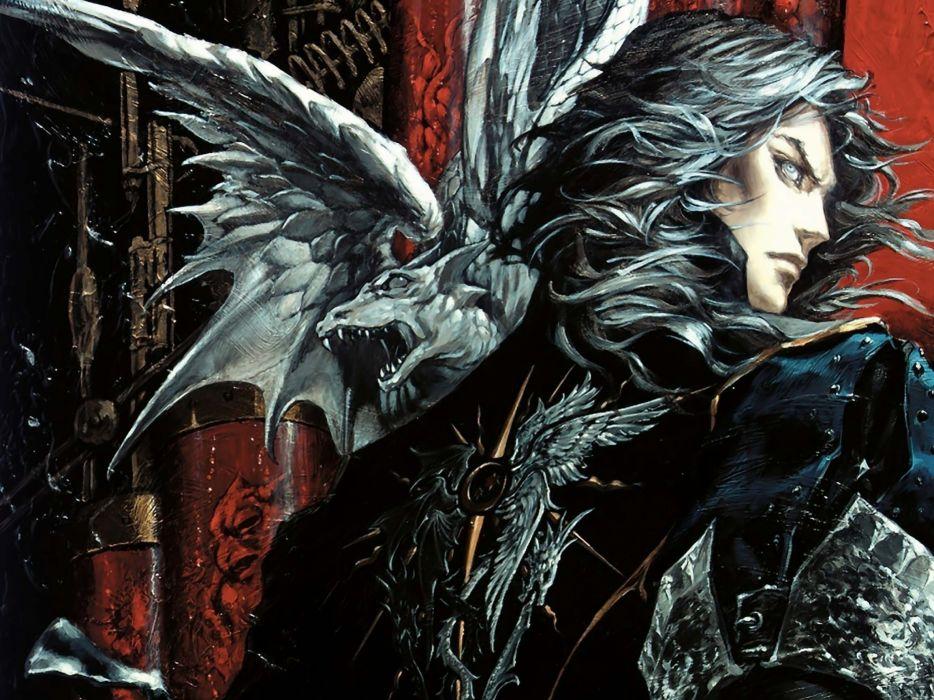 Castlevania ayami kojima vampire hunter hector castlevania lords of shadow - mirror of fate wallpaper