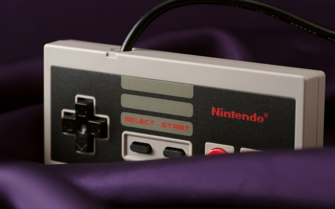 Nintendo video games nes game console wallpaper