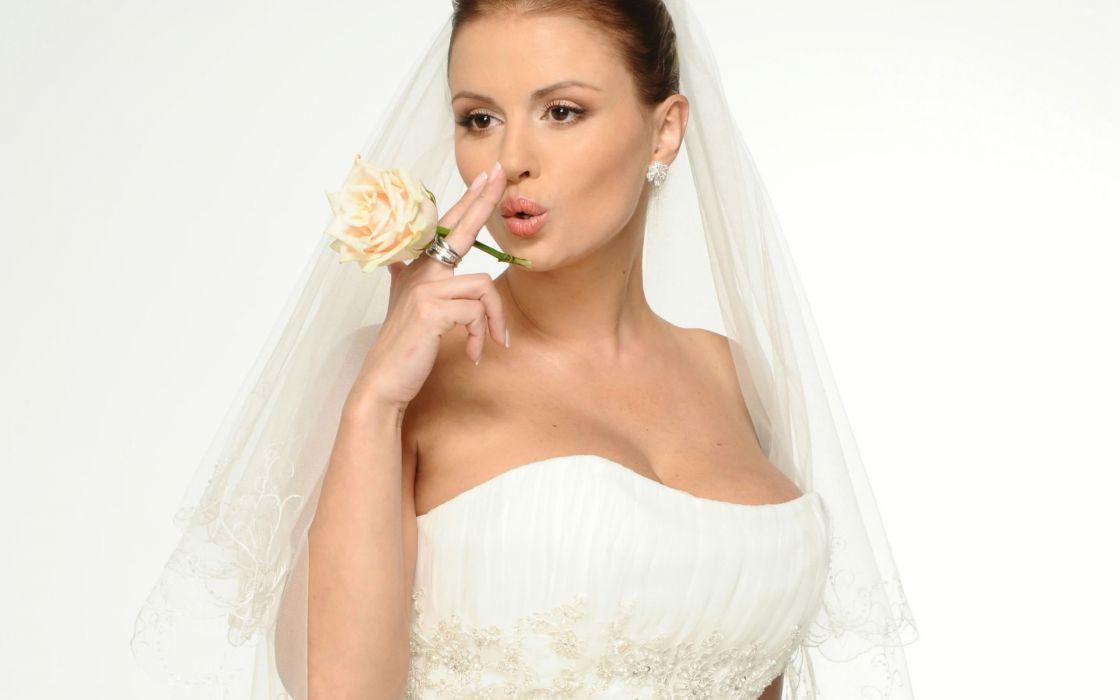 Women brides anna semenovich wallpaper